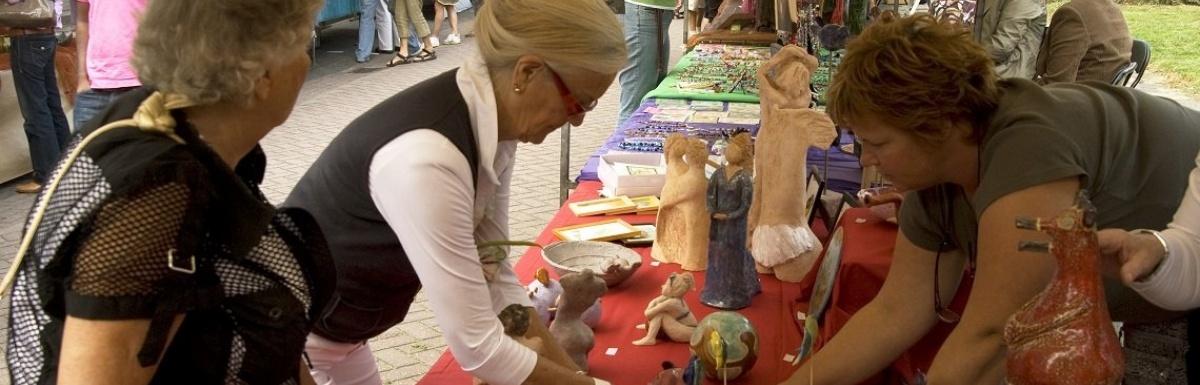 Kunst-en hobbymarkt