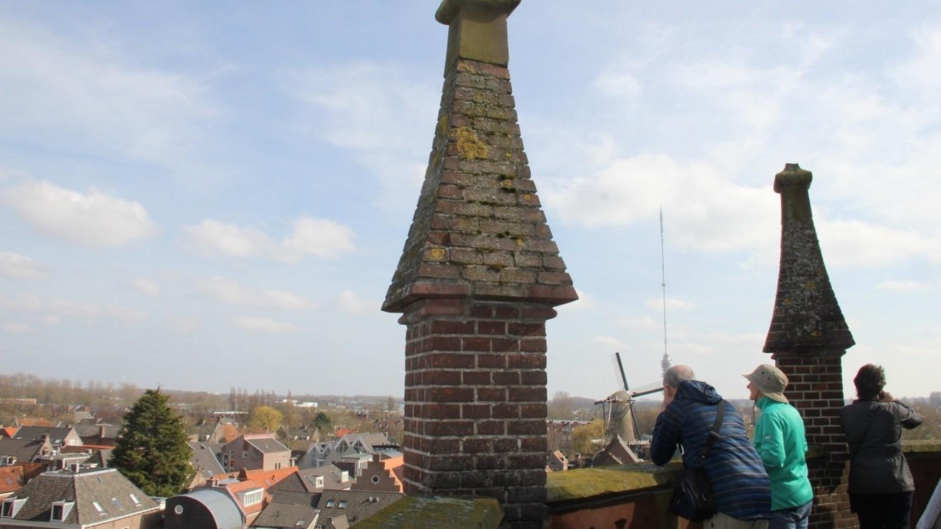 Belkimming gewelven Sint Nicolaasbasiliek I Foto: UIT in IJsselstein