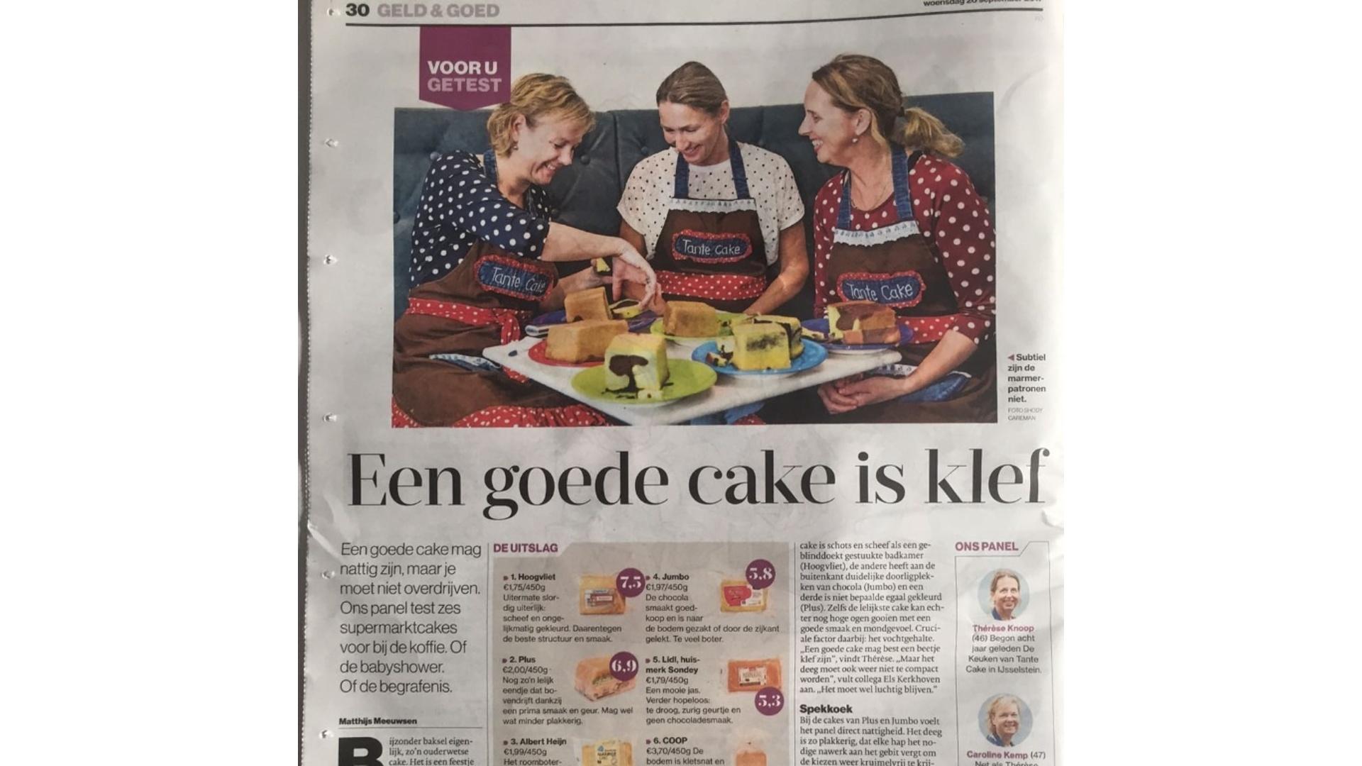 De Keuken van Tante Cake
