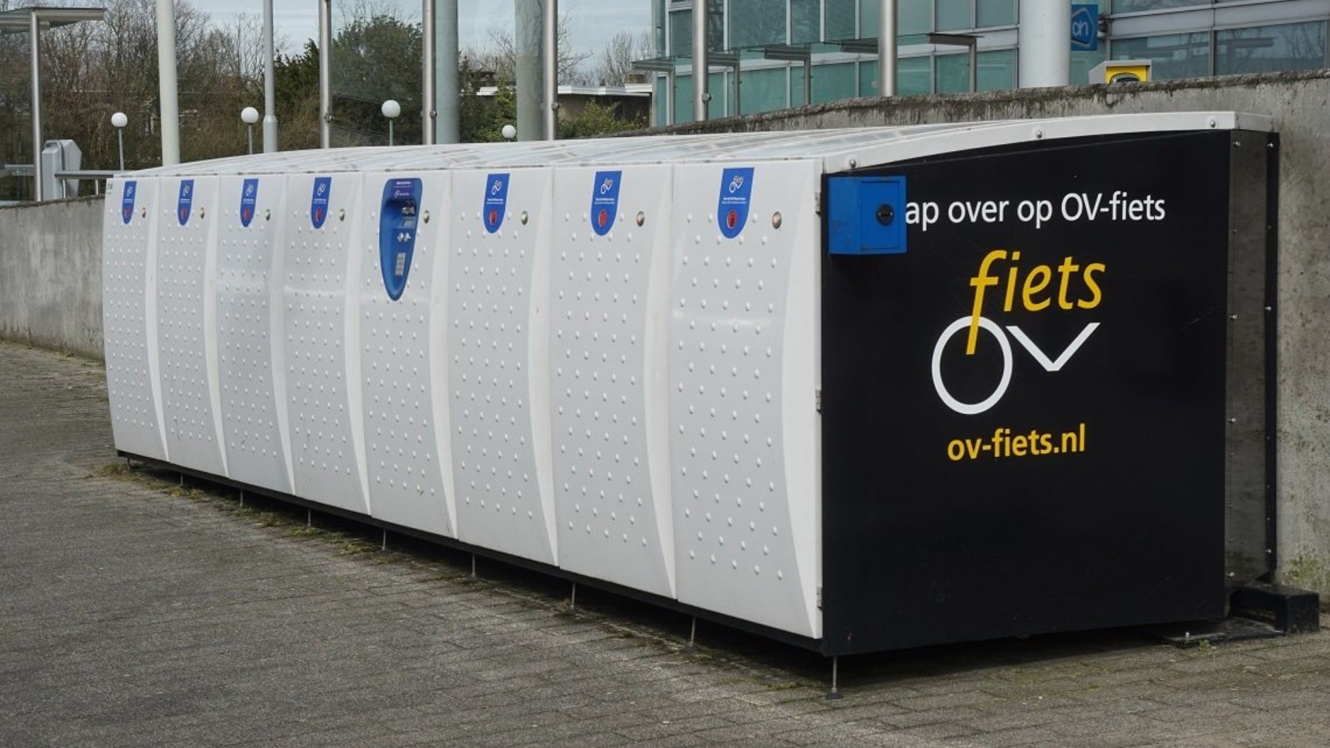 OV-fietsen tramhalte Binnenstad