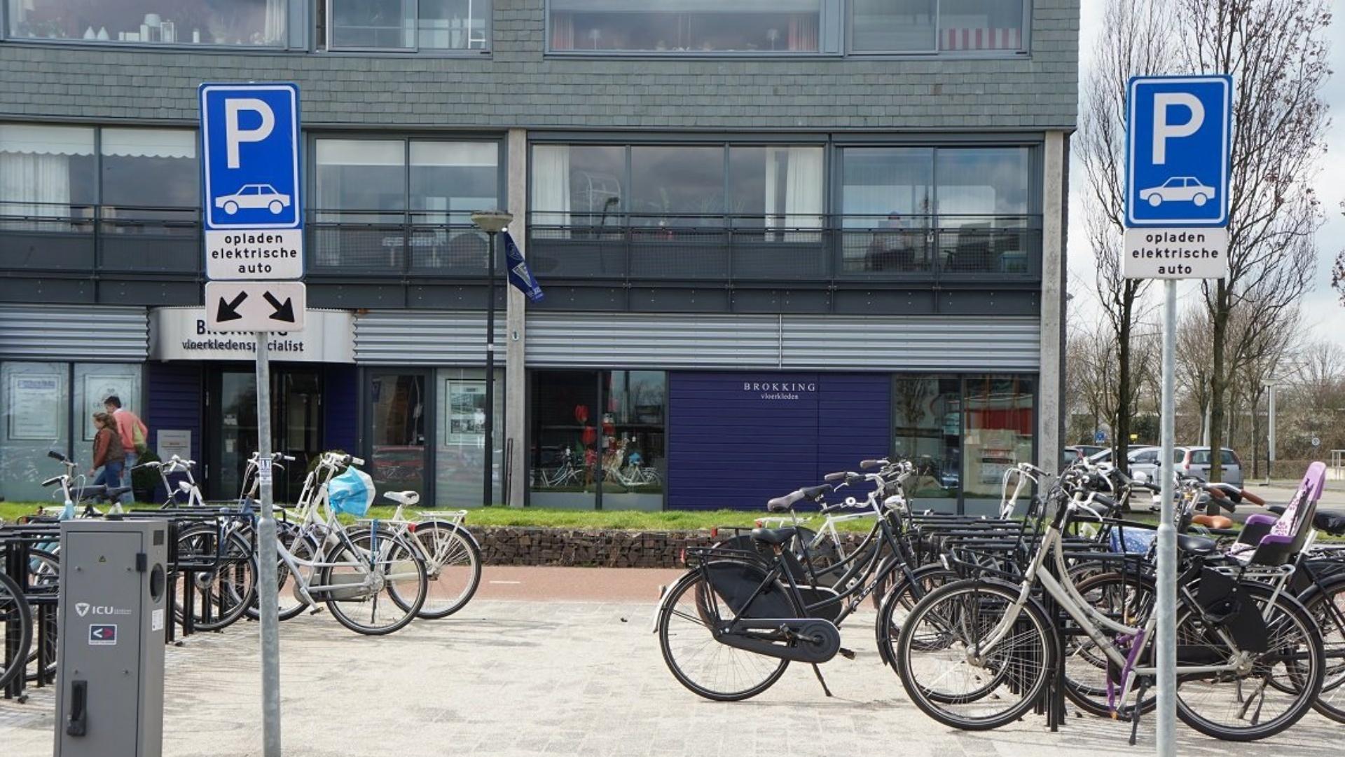 Oplaadpunt elektrische auto's Podium IJsselstein