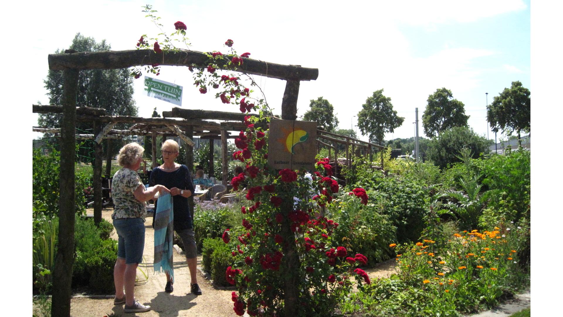 Eetbaar IJsselstein, Hooghe Camp tuin, tuinieren, natuur, IJsselstein, weidebloemen, open tuinendag