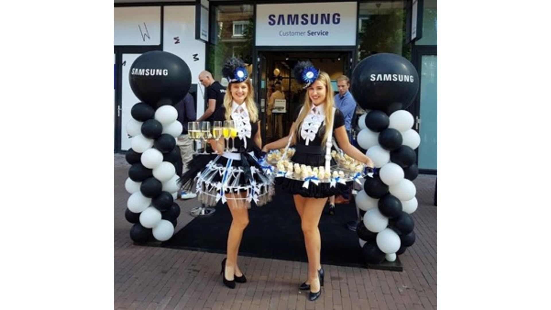 Cupcakes voor de Samsung