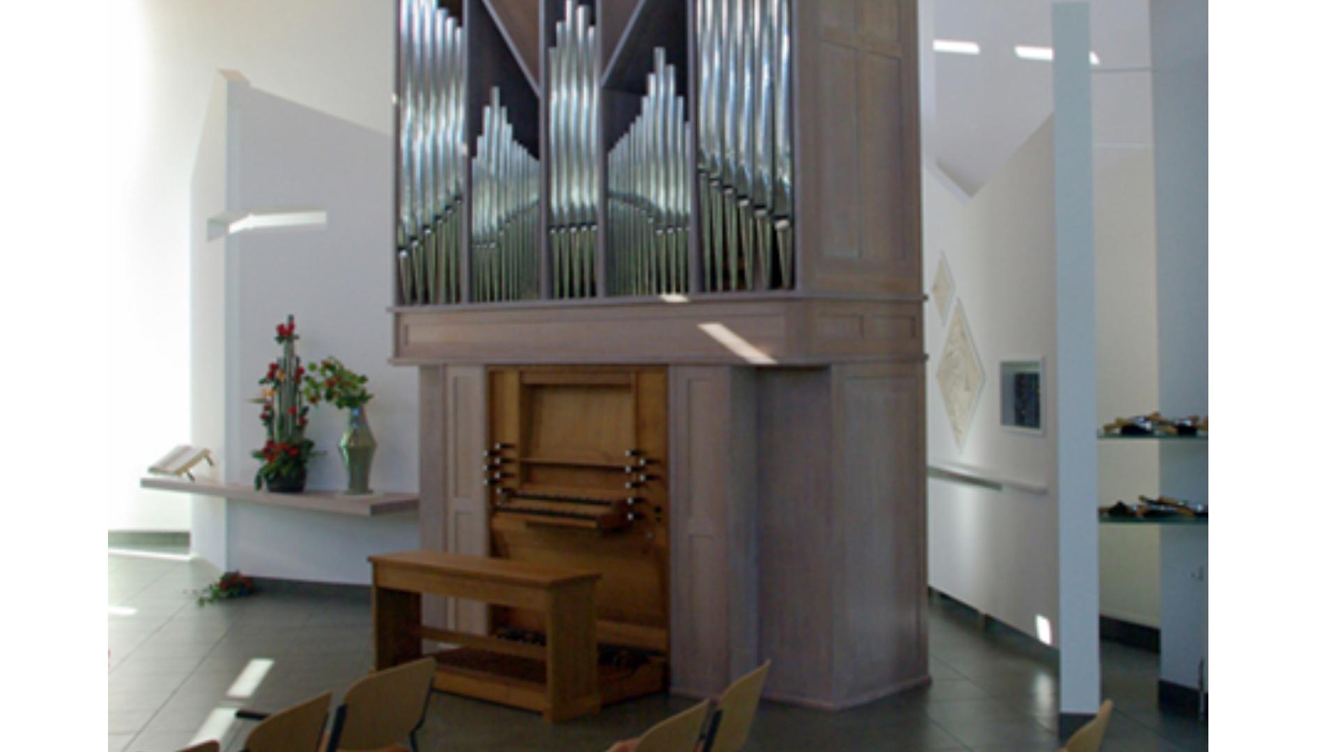 Van der Berg & Wendt-orgel (1966) Ontmoetingskerk IJsselstein