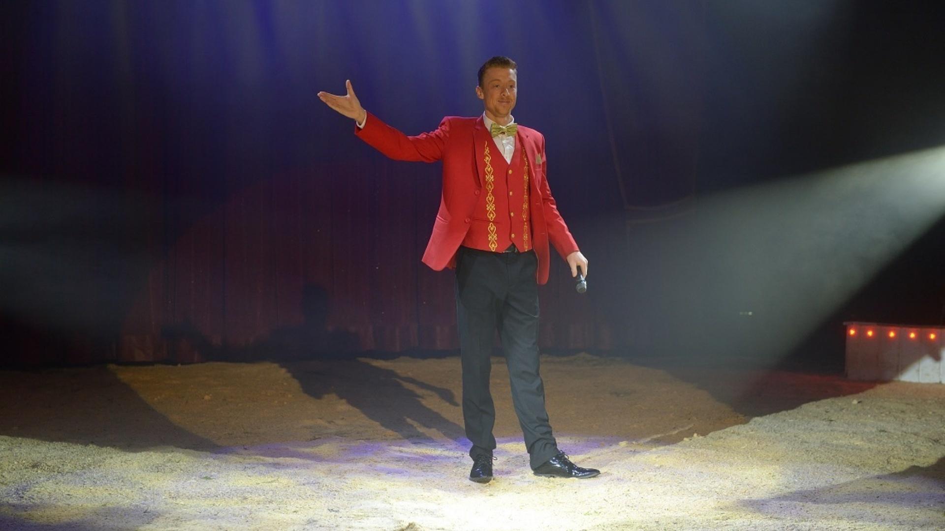Circus Maximum spreekstalmeester Kevin van Geet