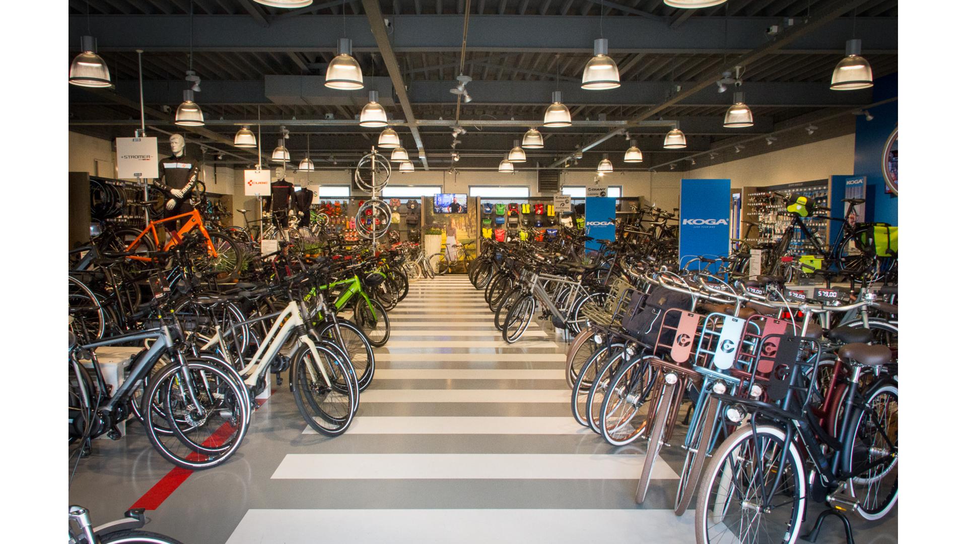 van Ekeris tweewielers - Onze winkel