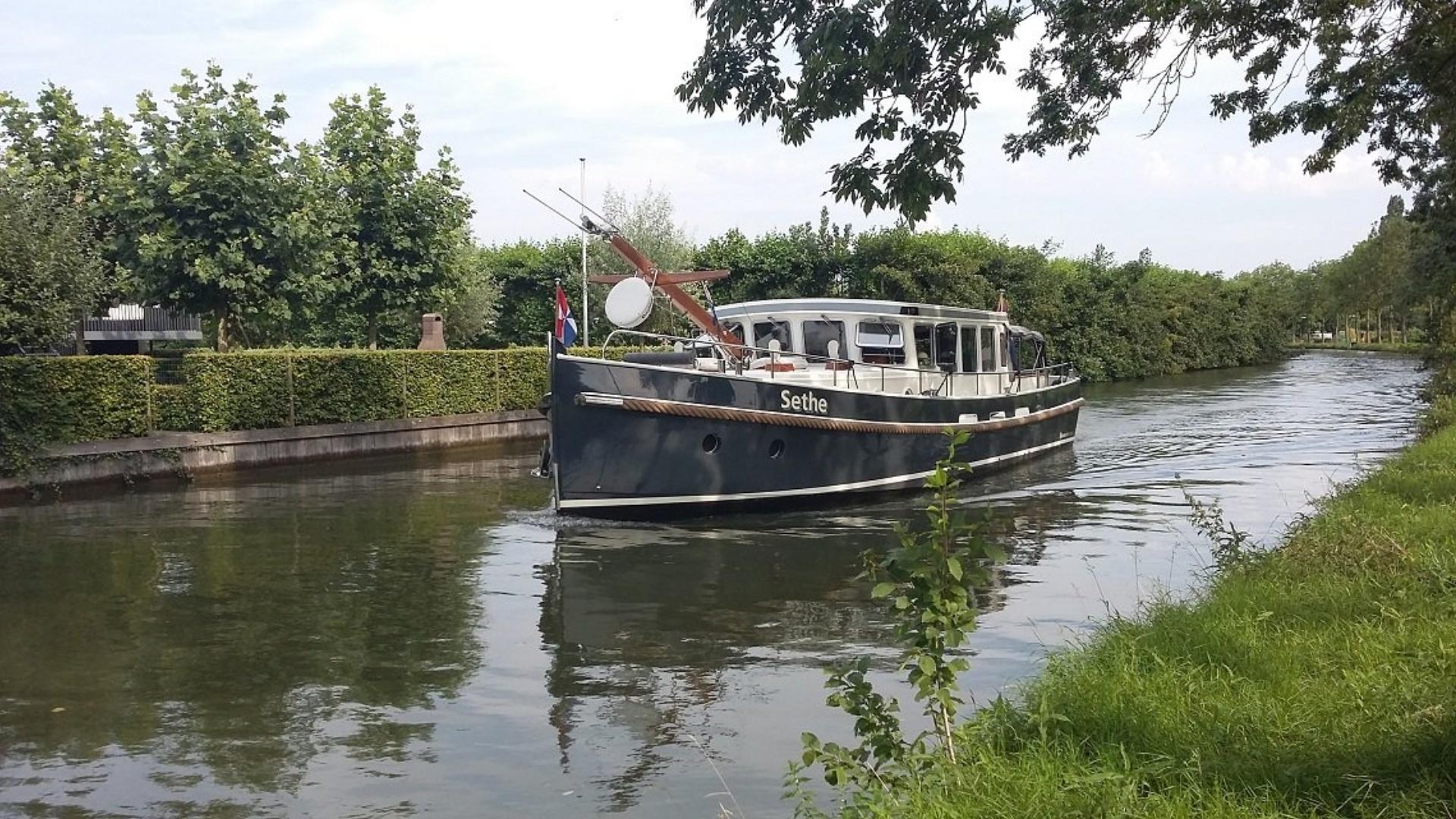 Varen over de Hollandse IJssel